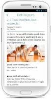 Screenshot of Défi Planche 30 Jours
