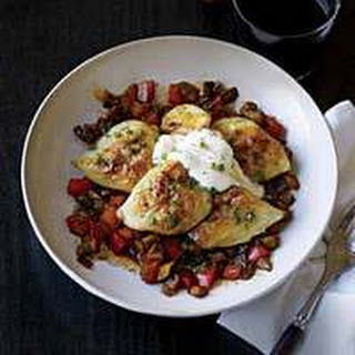Pierogi Sauce Mushrooms Recipes