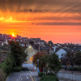 Urban Beauty by Michael Payne - City,  Street & Park  Skylines ( leighonsea, essex, cityscape, sunrise, southend )