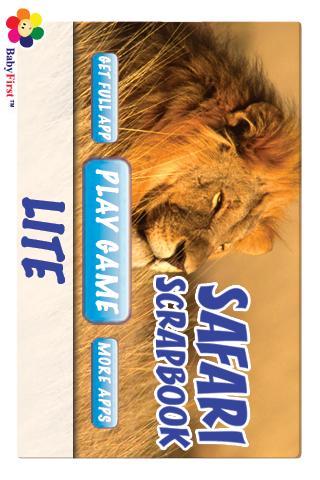 Safari Scrapbook Lite