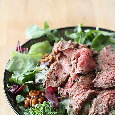 Black-and-Blue Flank Steak Salad