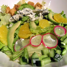 Romaine Salad With Avocado and Oranges
