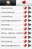 Screenshot of Wake Up Alarm Ringtones