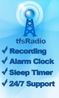 Screenshot of tfsRadio Pakistan