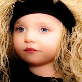Curly Cue by Cheryl Korotky - Babies & Children Child Portraits