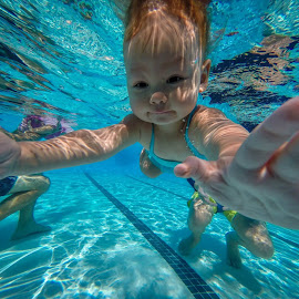 Jazz hands! by Jeremy Yorba - Sports & Fitness Swimming ( learn to swim )