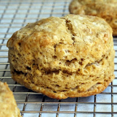 Spicy Butternut Squash or Pumpkin Biscuits With Pecans