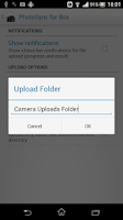 Screenshot of Photo Sync for Box (Uploader)