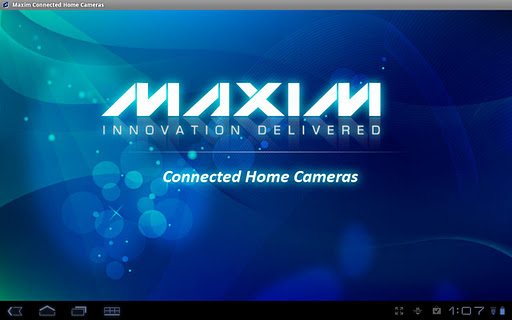 Maxim Connected-Home Camera