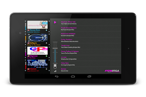 Screenshot of VirtualDJ Radio