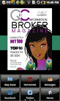 Screenshot of QC Information Broker Magazine