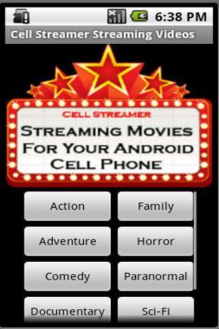 娛樂必備APP下載|Cell Streamer Streaming Movies 好玩app不花錢|綠色工廠好玩App