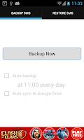 Screenshot of Cloud SMS Backup & Restore