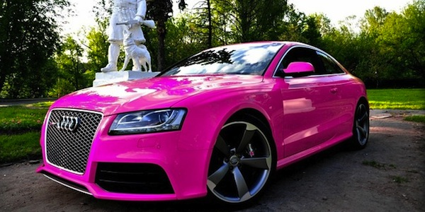 Audi San Francisco >> Breast Cancer Awareness Month: Pink Supercar Special (Photos) - Carhoots