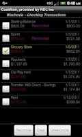 Screenshot of Cashflow