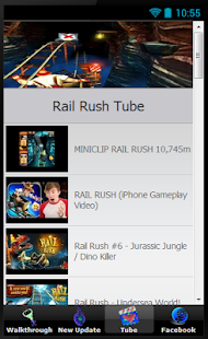 Cheats Guide Rail Rush - screenshot