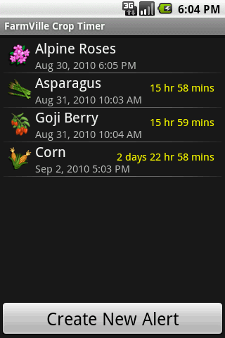 FarmVille Crop Timer Free