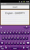 Screenshot of SlideIT English US Pack