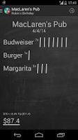 Screenshot of Restaurant Expense Manager