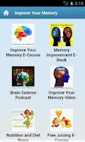 Screenshot of Improve Your Memory
