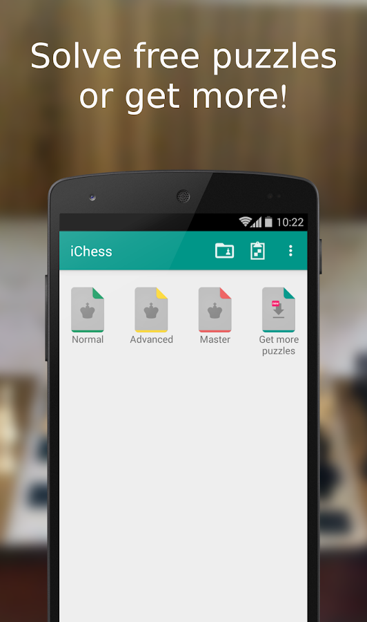 iChess - Chess Tactics/Puzzles Screenshot 0