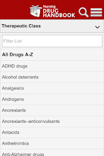 Nursing Drug Handbook- screenshot thumbnail