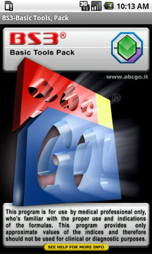 BS3 Basic Tools Pack