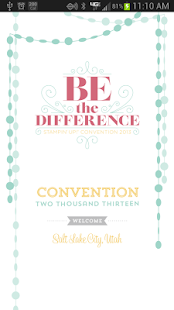 Stampin' Up! Convention - screenshot