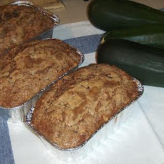 Low Fat Healthy Zucchini Bread