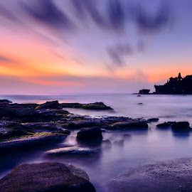 The Famous Tanah Lot by Indrawaty Arifin - Landscapes Beaches ( landscape, beach )
