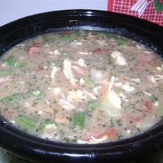Chicken Stock Gumbo