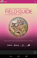 Screenshot of Field Guide Queensland Fauna