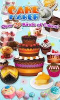 Screenshot of Cake Maker 2-Cooking game