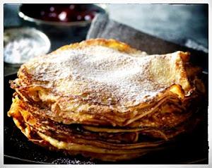 Old Fashion Danish Dessert Pancakes