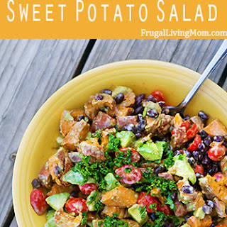 Spicy Chipotle Sweet Potato Salad