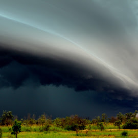 Big Nerrima Thunderstorm by Daniel  McIntosh - Novices Only Landscapes ( dan mcintosh )