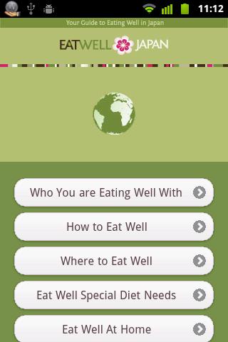 Eat Well Japan