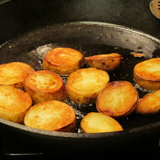 Duck Fat Fried Potatoes