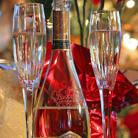 New Year's Champagne by Jeannine Jones - Food & Drink Alcohol & Drinks ( new, year )