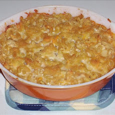Kree's Baked Macaroni and Soy Cheese