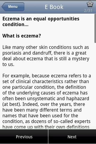 Dealing with Eczema