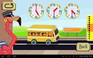 Screenshot of Learn to tell time - Fun Clock