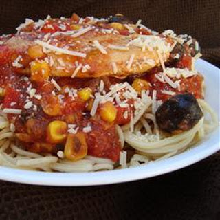 Spicy Chicken Spaghetti