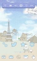 Screenshot of 파리자유여행 도돌런처 테마