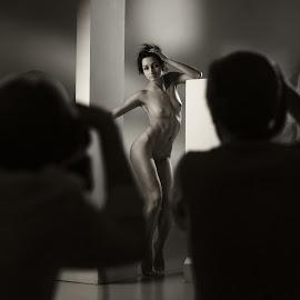 Model by Dmitry Laudin - Nudes & Boudoir Artistic Nude ( studio, model, photography )