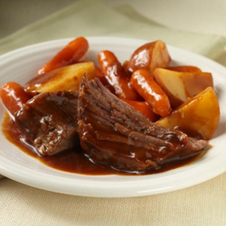 Easy Slow Cooker Pot Roast Recipe | Yummly