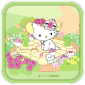 Charmmy Kitty Garden Theme
