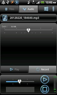 RecForge Pro - Audio Recorder Screenshot