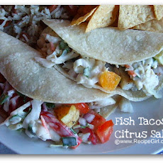 Fish Tacos with Citrus Salsa