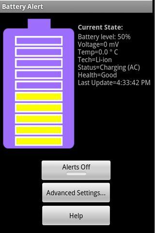Battery Alert